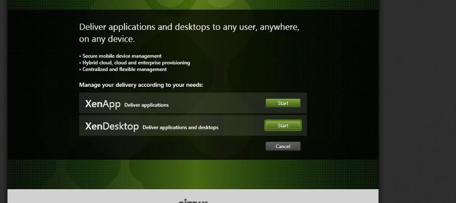 XenApp/XenDesktop 7.5 – Delivery Controller installation