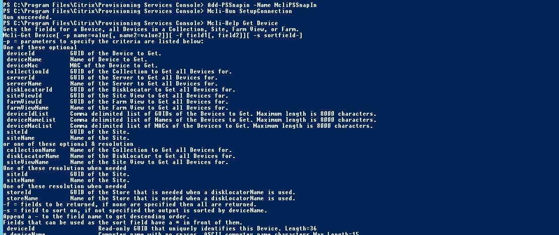 Citrix PVS Powershell – MCLIPSSnapin installation – Xenthusiast