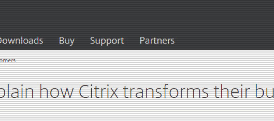Citrix Customer Case Study – Provisioning Services