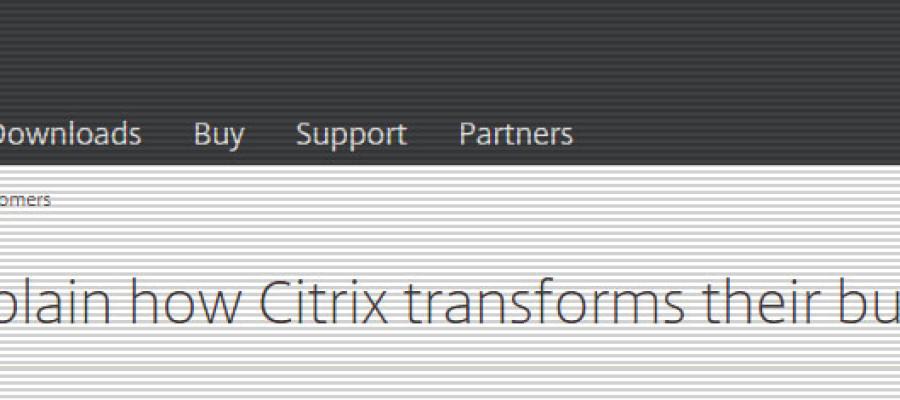 Citrix Customer Case Study – Provisioning Services
