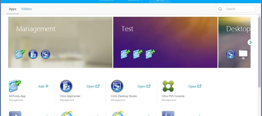 No more Green Bubbles – Citrix StoreFront X1 Tech Preview !!!